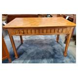 Vtg Knotty Pine Desk