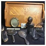 Womens Vanity, Sterling, Bronze, Madonna