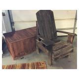 Adirondack Chair & Storage Chest