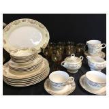 Crown Potteries Dish Set