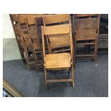 Folding Wood Chairs from Kress