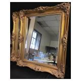 Gold Painted Framed Mirrors
