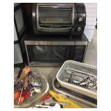 Hamilton Beach Toaster Oven, GE Microwave
