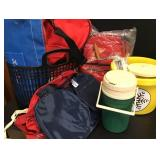 Igloo Cooler, Backpack, Ice Cream Maker