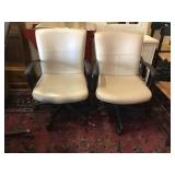 Leather Office Chairs, 2