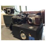Vtg Cameras & Slide Projectors