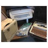 Vtg Electric Typewriters