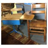 Vtg School Desks, 2