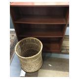 Wood Veneer Bookshelf