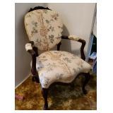 Atq Victorian Parlor Chair #2