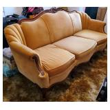 Atq Victorian Upholstered Sofa
