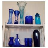 Blue Glass Collectibles