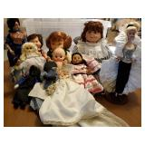 Collection Vtg Dolls