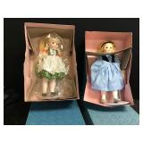Heidi and Goldilocks Madame Alexander Dolls