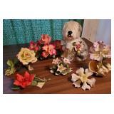 Italian Porcelain Florals + Sheepdog 7