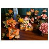 Italian Porcelain Florals 7