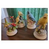 Porcelain Bird Music Boxes