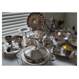 Silverplate Serving