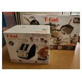 T-Fal Cookware + Toaster New