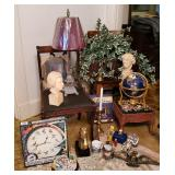 Traditional Decor-Chairs, Busts, Globe +