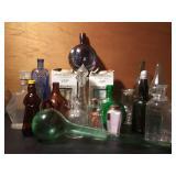Vtg Bottles & Decanters