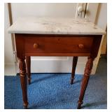 Vtg Cherry Side Table