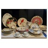 Vtg China Serving Pieces-Limoges, Nippon