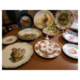 Vtg Decorative Plates - Limoges +