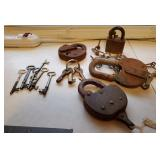 Vtg Keys & Locks