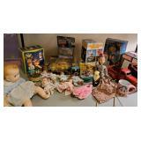 Vtg Toys + Dolls