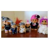 Vtg Troll Dolls