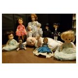 Vtg, Porcelain & Unusual Dolls
