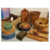 Wood & Baskets