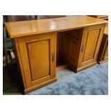 Atq English Oak Desk
