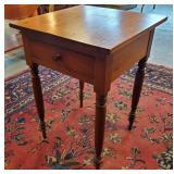 Atq Poplar Side Table