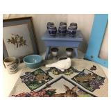 Blue Pottery & Decor