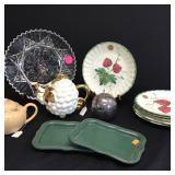 Blue Ridge Pottery Plates +