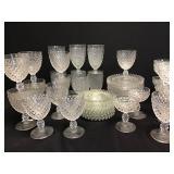 Duncan Miller Clear Glassware