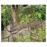 Outdoor MCM Wrought Iron Bench - Set