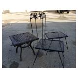 Outdoor Metal Tables, Stand