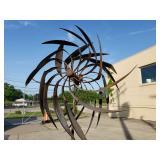 Outdoor Metal Wind Spinner