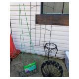 Outdoor Planters, Trellis +