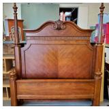 Queen Walnut Bed Frame