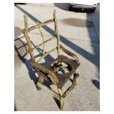 Shabby Chic Chair Planter
