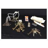 Vtg Keys & Other Collectibles