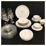 Vtg Noritake & Kayson China, Glass