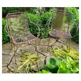 Vtg Outdoor MCM Patio Chairs - Set