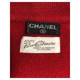 Chanel Cashmere label