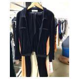 Vintage Sonia Rykiel Velour Track Suit