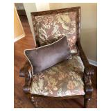 Tropical Floral Occasional Arm Chair - $160